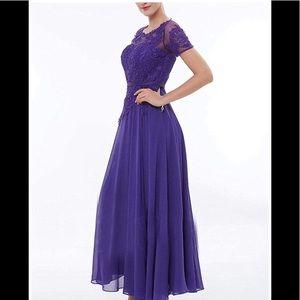 Beautiful purple  Formal Evening dress